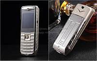 Мобильный телефон VERTU V8 на 3 Sim Большая батарея 5800 Mah + фонарик