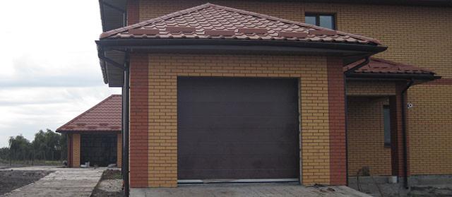 Секционные гаражные ворота в Перещепино