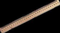 Линейка деревянная 30 см МИЦАР