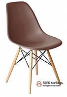 "Стул ""Eames DSW"" (Wood) (ПЛ коричневый)"