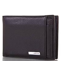Кожаный черный мужской кошелек KARYA (КАРИЯ) SHI0911-2FL