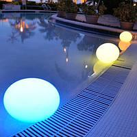 Плавающий светильник для бассейна Овал