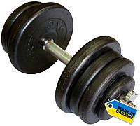 Гантель наборная стальная, 25.5 кг, фото 1