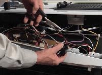 Ремонт электросхемы духового шкафа
