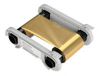 Лента риббон METALLIC GOLD - 1000 prints / roll(RCT016NAA) золотая, на 1000 оттисков