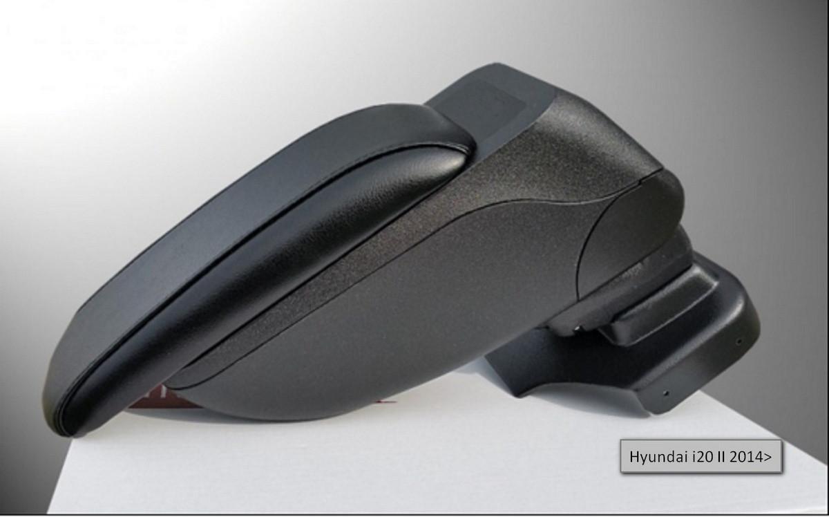Подлокотник Armcik S2 Hyundai i20 II 2014> со сдвижной крышкой