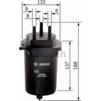 Фильтр топливный прямоточный Kangoo 1.5 DCI Bosch 0450906468