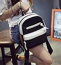 Городской рюкзак в черно-белом окрасе., фото 5