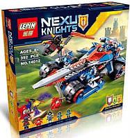 Конструктор Nexo Knights Устрашающий разрушитель Клэя 14012