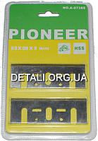 Ножи рубанка Pioneer широкие 82*28*3 мм HSS