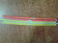 Браслеты неоновые светящиеся (50 шт в тубусе)