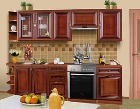Кухонная система К-1 вариант №1 орех (ТМ Скай)
