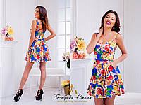 """Платье """"Букет"""" цвета, фото 1"""