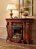 Набір для Вітальні Barocco Noce, Виробник Fr.lli Pistolesi (Італія), Набор мебели для гостинной, фото 5