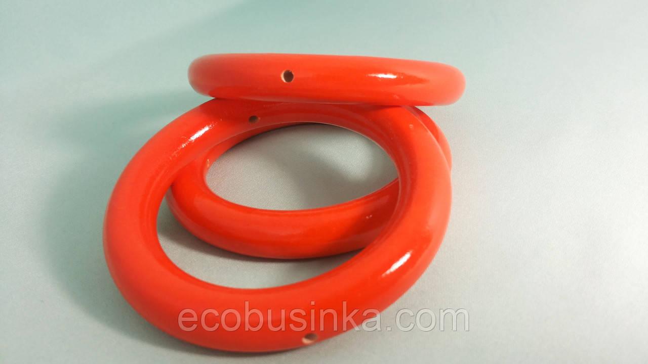 Кольцо большое, 85мм Оранжевый