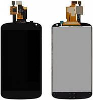 Дисплей (экран) + сенсор (тач скрин) LG Nexus 4 E960 black