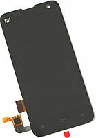 Дисплей (экран) + сенсор (тач скрин) XIAOMI Mi2, Mi2s black (оригинал)