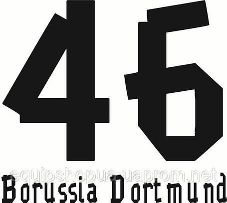 Нанесение номера и фамилии Borussia, фото 2