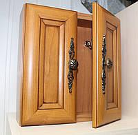 Настенная деревянная ключница ручной работы