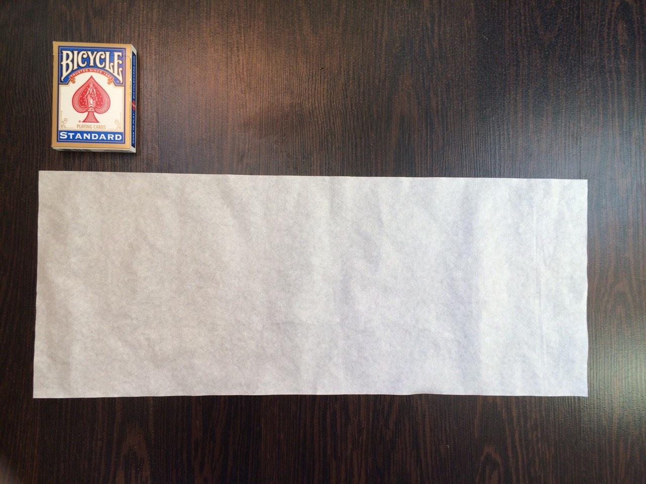 Пиробумага 50х20см біла