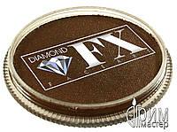 Аквагрим Diamond FX основной Коричневый лёгкий 32g