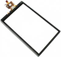 Сенсор (тач скрин) SAMSUNG I8320 black