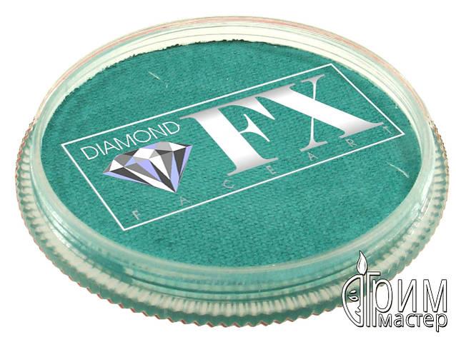Аквагрим Diamond FX основной Голубой морской 30g, фото 2