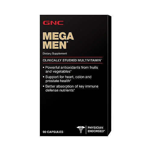 GNC Mega Men 90 сapsules