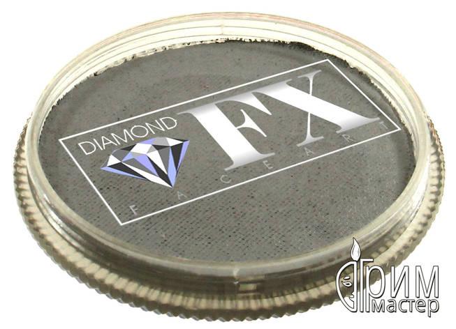 Аквагрим Diamond FX основной Серый 30g, фото 2