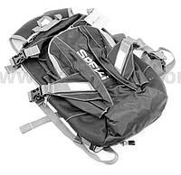 Рюкзак влагозащитный 20 литр., с отсеком для шлема, чехлом от дождя, вентилируемые накладки на спину.