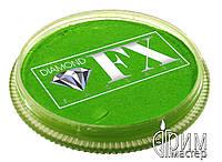 Аквагрим Diamond FX основной зелёный лёгкий