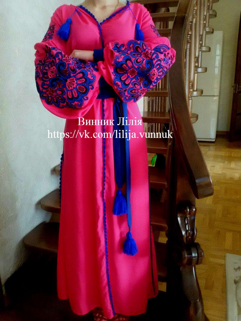 e66844c60d2211 Вишите плаття у стилі Бохо. Жіноча вишиванка. Ексклюзив.: продажа ...