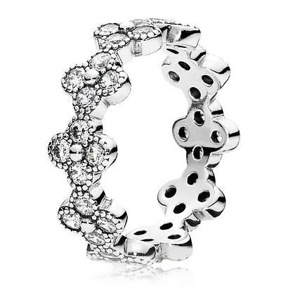 Кольцо из серебра 925 пробы в стиле Pandora