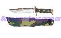 Нож для охоты в чехле Испания нержавеющая сталь