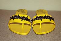 Женские сланцы Мелисса Anglomania III (желтый) 38-24см