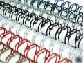 Пружина металлическая, формат А4, диаметр 14.3 мм, белые (возможен любой цвет) (100 шт.) (уп.)