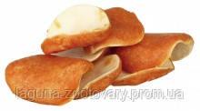 Чипсы жевательные с курицей сыромятная кожа Denta Fun 8шт/100гр для собак