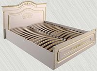 """Кровать """"Гармония"""" 1400, МДФ патина"""