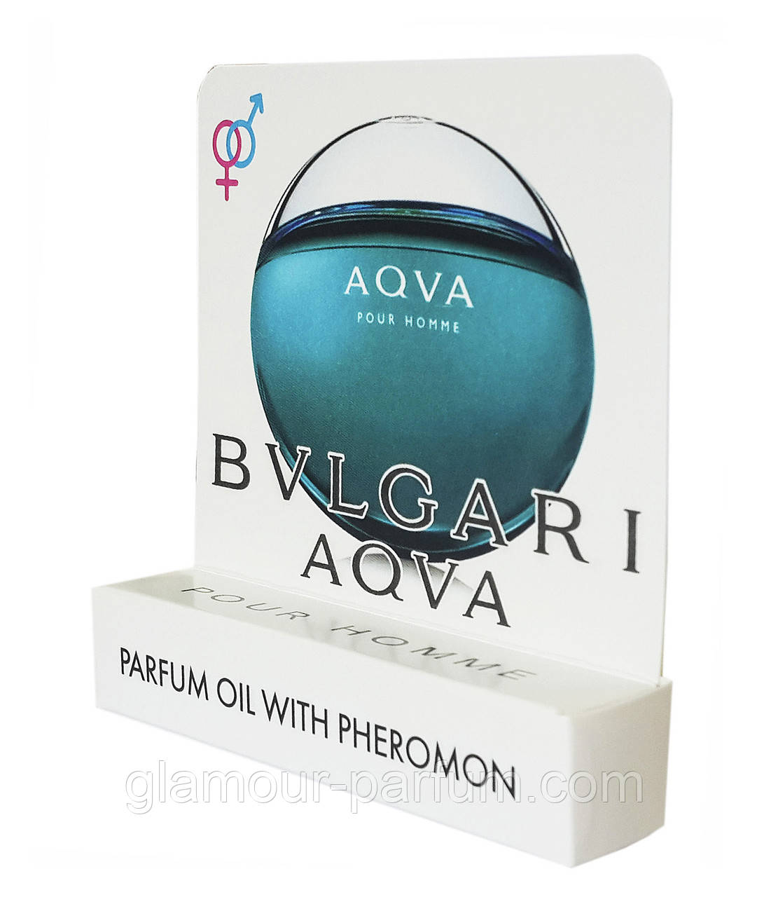 Мини парфюм с феромонами Bvlgari Aqua pour Homme (Булгари Аква Пур Хоум) (реплика)