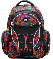 """Городской женский рюкзак для спорта и школы 12+ CFS 17,5"""", Butterfly CF85695 разноцвет"""