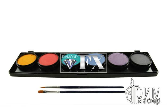 Палитра Diamond FX пастельные цвета 6 по 10 g., фото 2
