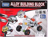 Конструктор металлический alloy buliding block с ключом и отверткой