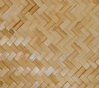Отделочная плита бамбуковая (тес), светлая, 2440*1220 мм 2-х слойная., фото 1