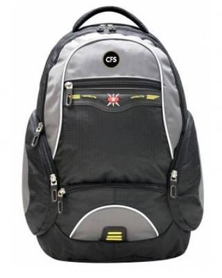 """Крутецкий мужской рюкзак для города и школы 12+ CFS 17,5"""", Star CF85681 черный"""