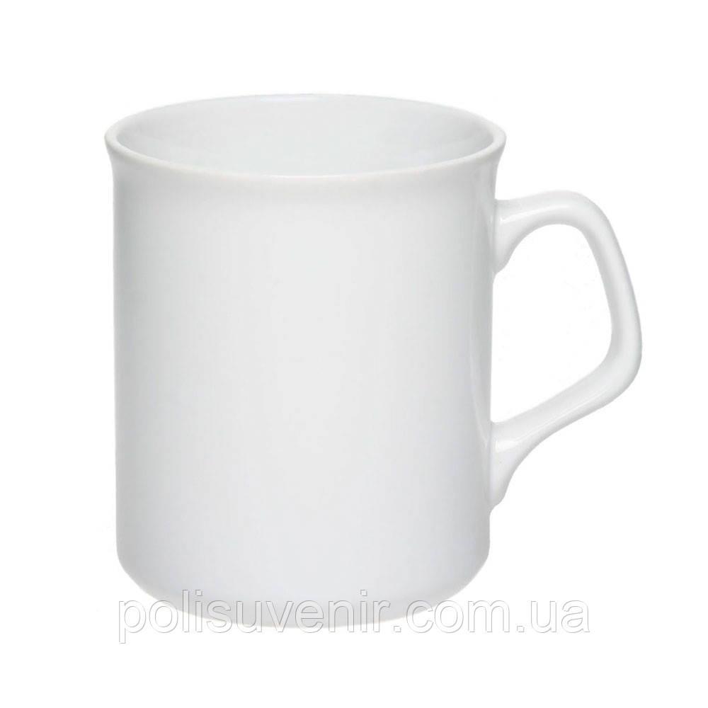 Кружка цилиндрическая белая