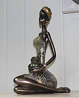 Статуэтка Африканская женщина 35 см SM- 78