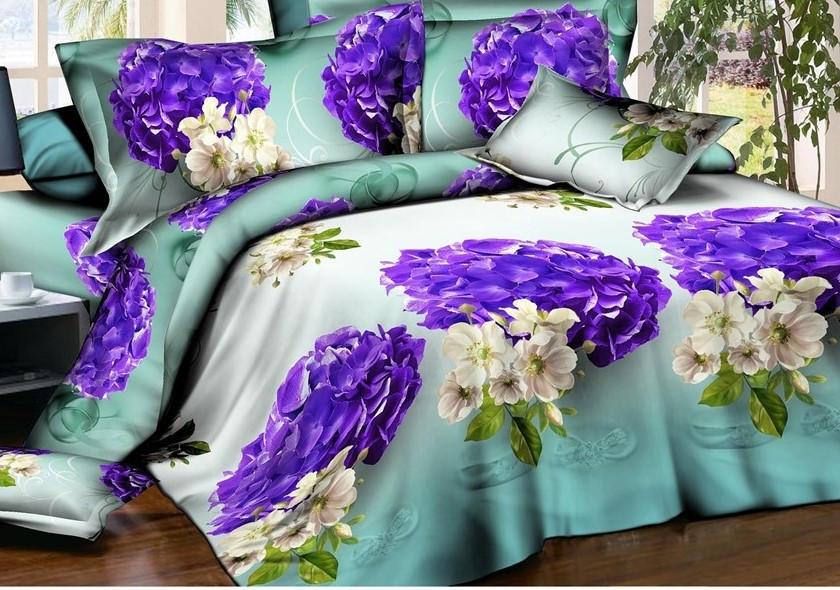 Комплект постельного белья Ранфорс семейный размер