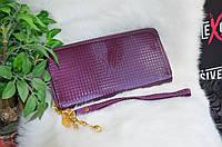 Кошелек в стиле Луи Виттон лаковый, фоилетовый., фото 1
