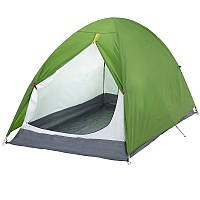 Туристическая Палатка-тент двухместная, зеленая