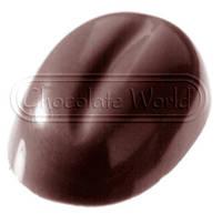 Форма для шоколада Кофейные зерна 17x12x5 мм Chocolate World 1281 CW
